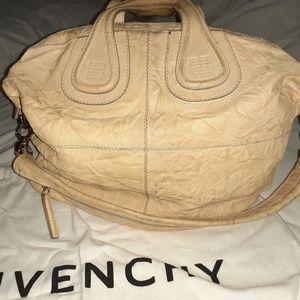 Givenchy wrinkled nightingale large purse